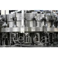 Wholesale PLC Control Glass Bottle Beer Filling Machine For Carbonated Drink / Beverage from china suppliers