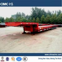 Wholesale CIMC 6 axles semi trailer low bed 80T - 100T from china suppliers