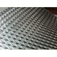 Wholesale galvanized / nickel expanded metal walkway Grating mesh with hexagon Hole from china suppliers