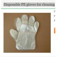 Wholesale Disposable PE gloves for cleaning from china suppliers