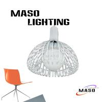 Wholesale Decorative iron pendant lamp 3w-60w indoor lighting made in Zhongshan factory MS-I6010 from china suppliers