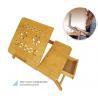 Buy cheap bamboo Modern sofa folding Computer desk from wholesalers