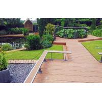 Wholesale Engineered WPC Decking Flooring For Corridor & Decoration With Sanding Surface from china suppliers