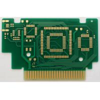 Wholesale 1.6mm double sided FR-4 PCB with ENIG finish and gold finger for computer application from china suppliers