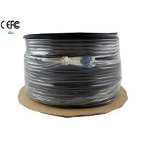 Wholesale Single Mode Armored  CPRI Cable 4 Fibers LC end spiral helical for Outdoor from china suppliers