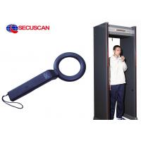 Wholesale Black 41 ( L ) X 8.5 ( W )  X 4.5 ( H ) cm Cheap Handheld Metal Detector Body Scanner sales for Correctional Facilities from china suppliers