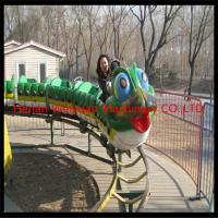 Wholesale park amusement ride Fruit Worm Roller Coaster from china suppliers