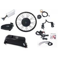 Wholesale Rear / Front Wheel Electric Bicycle Conversion Kit 55km/h With Samsung Battery from china suppliers