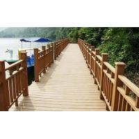 Wholesale Porch Wood Plastic Composite Railing / WPC Balustrade Heat-Prevention from china suppliers