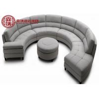 Wholesale Half Moon Sofa Shade Microfiber Leather Booth Furniture For Restaurant Furniture from china suppliers
