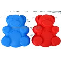 Wholesale Cute Bear Shape Silicone Baking Cake Mold For Children from china suppliers