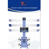 China Automatic 3D Wheel Aligner Machine Tire Balancing With Multi Languages Database on sale