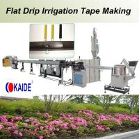 Wholesale Flat Drip Irrigation Pipe Making Machine 180m/min from china suppliers
