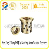 Buy cheap Mold Component Oilless Bearing Bushing Graphite Brass Bushing Graphite Bronze Bushing from wholesalers
