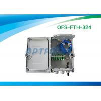 Quality Micro Splitter Fiber Termination Box Passive Optical Points FTTH 16 SC Adapter for sale