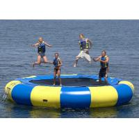 Wholesale 0.9mm Heavyduty Pvc Tarpaulin Inflatable Bouncer Water Sports , Inflatable Water Games from china suppliers