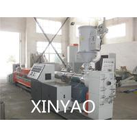 Wholesale Plastic PE Pipe Extrusion Line For PPR ,  ABS / Single Screw Extruders from china suppliers