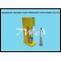 Wholesale Small Yellow Soda Machine For Home / Soda Machine Maker 150 Bar Working Pressure from china suppliers