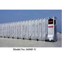 Wholesale Folding Aluminum Electric Folding Gates With Mesh Screen / Partition from china suppliers