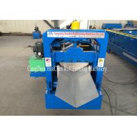 Wholesale 7.5Kw Ridge Cap Roll Forming Machine 0.3mm - 0.7mm for Steel Prefab House from china suppliers