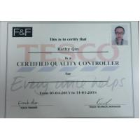 Lancai Accessories Co., Ltd. Certifications