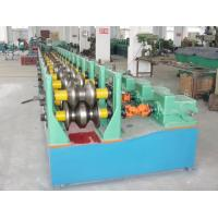 Wholesale 310 mm Width Guardrail Roll Forming Machine Glazed Steel 22kW 15 Station from china suppliers