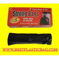 Wholesale Cheap price black HDPE trash bag from china suppliers