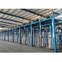 China Wire 1.6-4.2mm Wire Mesh Making Machine , Hot Dip Galvanizing Line For High Zinc Wire on sale