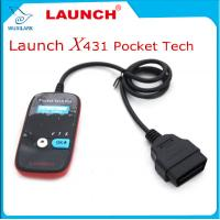 Wholesale Launch Pocket Tech Code Reader OBDII Code Reader Scanner Portable Device from china suppliers