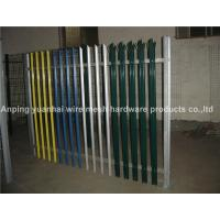 Wholesale High Strength Metal Palisade Fencing Heat Treated Pressure Treated Wood Type from china suppliers