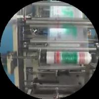 High Speed Express Bag Making Machine , 4 Color Flexo Printing Machine