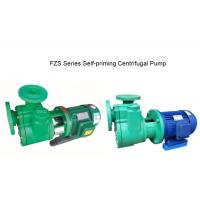 Buy cheap Polypropylene  FZS Series Self-Priming Pump from wholesalers