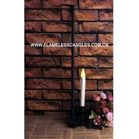 Wholesale Door Hanging Flameless Window Candles / Classic Oil Rubbed Bronze Finish LED Window Candles from china suppliers