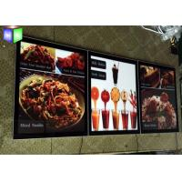 Wholesale Advertising Acrylic LED Menu Light Box Display Ultra Slim With Magnetic from china suppliers