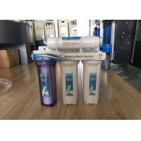 Wholesale 4 Stage 50 GPD Non - Electrical Household Water Filter Filtration Drinking Water System from china suppliers