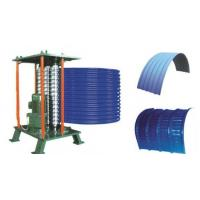 Quality Roof Steel Tile Roll Bending Machine Automatic Curving Radius 500mm for sale