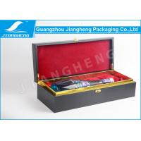 Wholesale MDF Wooden / Cardboard Single Wine Packing Boxes With Custom Logo Recycled from china suppliers