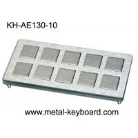 Quality 10 keys Custom Industrial Metal Keyboard Industrial Kiosk Keyboard for sale