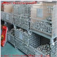 Wholesale wire mesh   folding storage cage/100% factory security cage/wire security cage/storage cages for sale from china suppliers