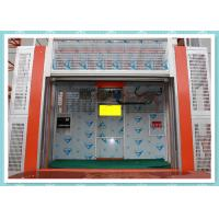 Wholesale Heavy Load Capacity Rack And Pinion Hoist / Building Site Hoist from china suppliers