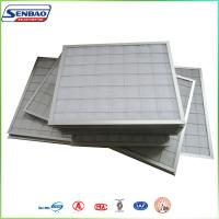 Wholesale Industrial Clean Room Pleated Panel Air Filters Synthetic Fiber from china suppliers