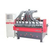 Buy cheap 6 heads high efficiency cnc woodworking carving machinery for furniture 1300*1600mm from wholesalers