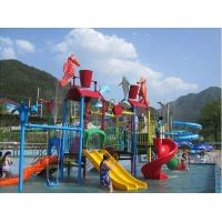 Wholesale Water Entertainment Kids Water Playground , Summer Fun Water Park 50 People from china suppliers