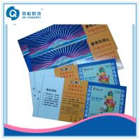 Wholesale Glossy Custom Superstar Concert / Movies Tickets Paper / Paperboard Offset Printing from china suppliers