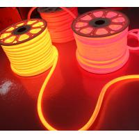 Wholesale 24v orange led neon flexible tube soft 360 led neo neon flex strip waterproof outdoor rope 2835 smd from china suppliers