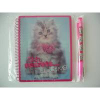 Wholesale Make your designs manufactured A4 / A5 / A6 hard cover Lenticular Notebook from china suppliers