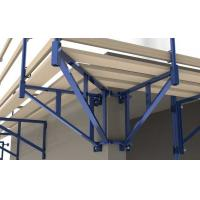 Wholesale OEM Roof Safety Post Bracket Catwalk Guardrail Support Strongback Steel Fence Systems from china suppliers
