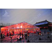 Wholesale 800 Seater Fabric Gala Dinner Outdoor Party Tents Clear RoofMarquee 25X50 M from china suppliers