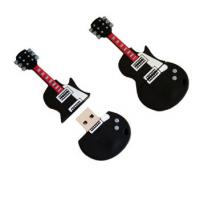 Wholesale Low price Custom soft PVC guitar usb flash drive,violin usb drive for customizable LOGO from china suppliers