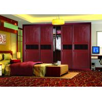 Wholesale Red High Gloss Bedroom Furniture Wardrobes Sliding Doors 4 Door Classic from china suppliers